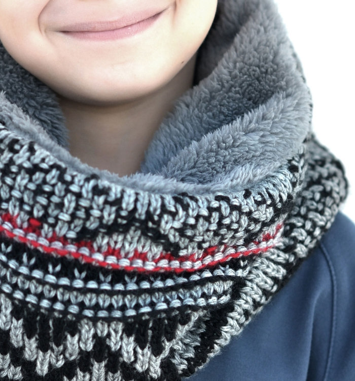 SNOOD WOOL/FUR