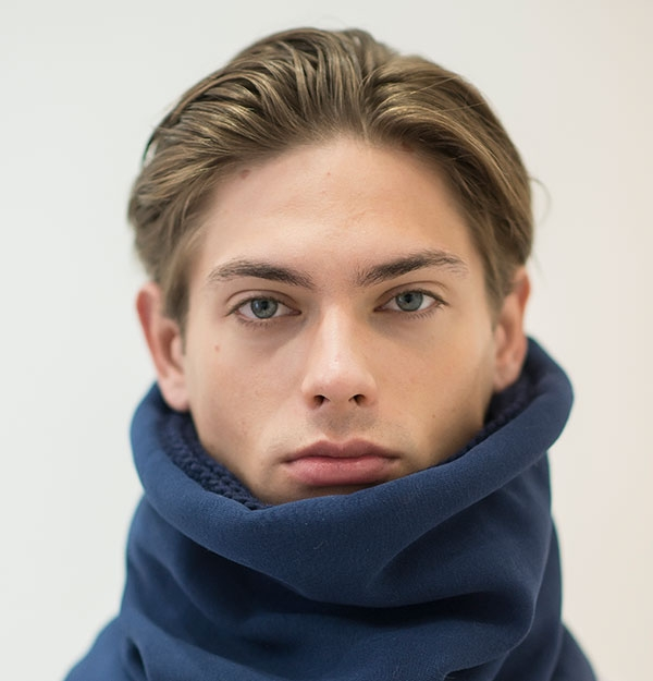 KNITTED COTTON SNOOD