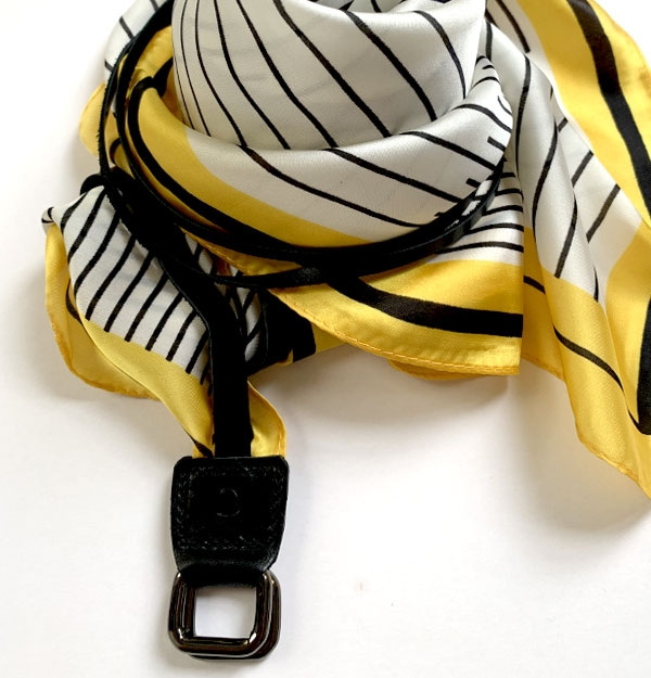 BELT YELOW STRIPES